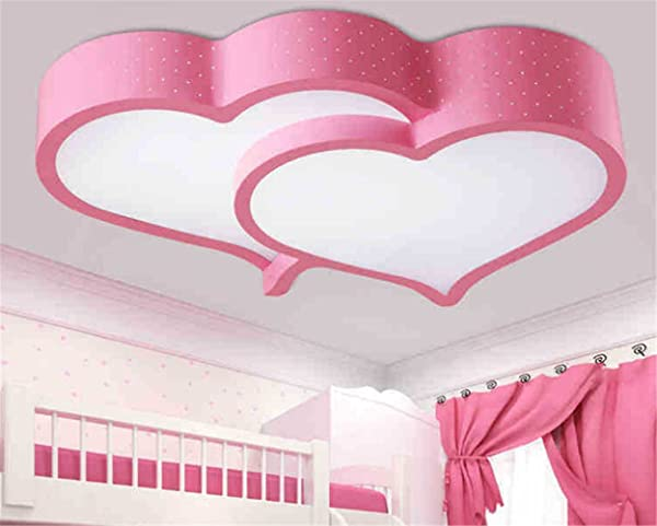 Malovecf Modern Arcrylic LED Ceiling Light Fixture Beautiful Heart ...