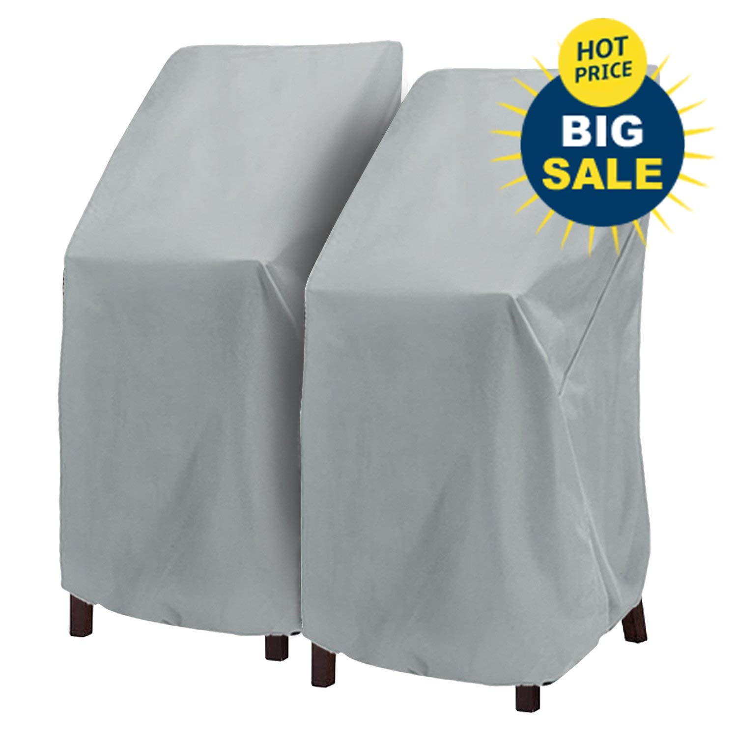 Amazon Com Patio Chair Cover Highback Durable Waterproof Outdoor