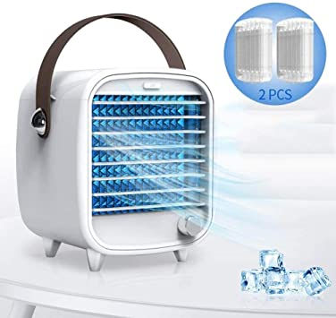 Fans Portable Air Conditioner Cooler Fan Humidifier Evaporative Air Cooling Fan