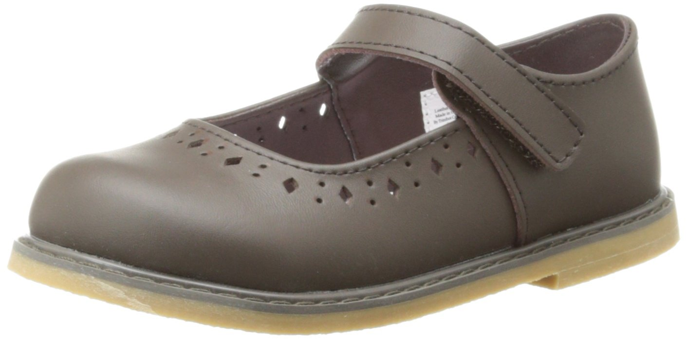 Baby Deer Stichout Mary Jane (Infant/Toddler/Little Kid),Brown,5 M US Toddler