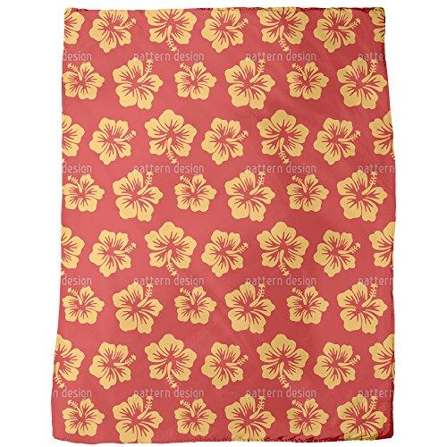 Hibiscus Greetings From Hawaii Blanket: Large by uneekee