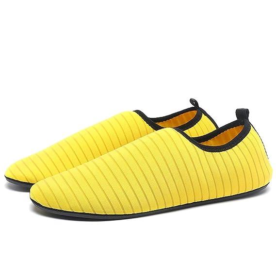 Bestow Los Modelos de Pareja de Secado rápido Calcetines de natación Calcetines de Playa Zapatos para