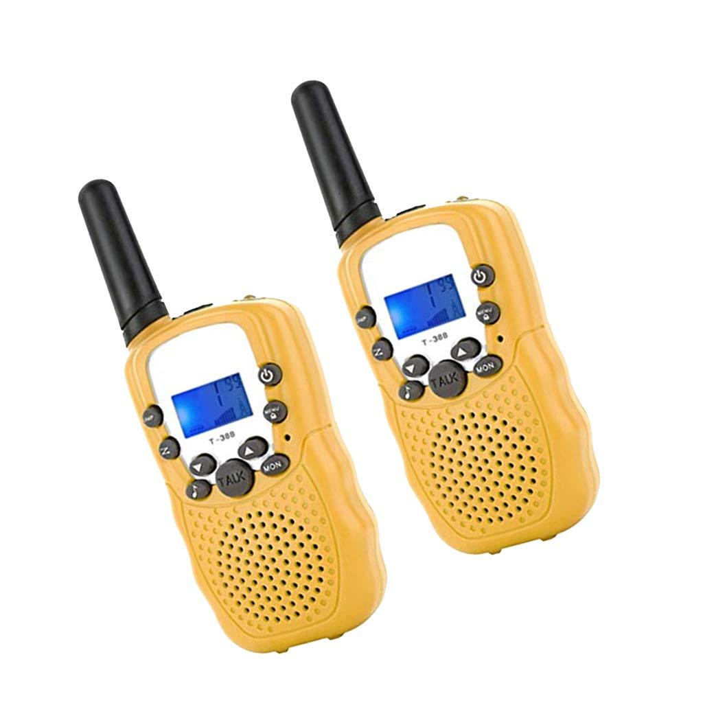 Baoblaze Handheld Talkie Walkie Enfants Jouet Jeux Éducatifs - Rose
