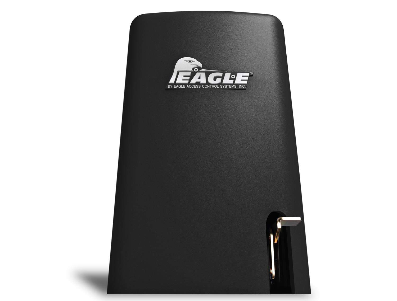 Eagle-1000 FR 1/2 HP Slide Gate Operator Motor for Residential Access Control Entrance - up to 27' ft 600lbs for Home or Light Commercial Businesses with 2 Remotes, Receiver, and Photo Eye Monitor
