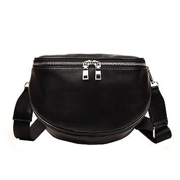 58b8d7a6cf3a Amazon.com: Snowfoller Fashion Shoulder Bag PU Leather Shell ...