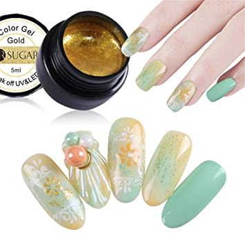 Amazon Com Ur Sugar 5ml Gel Nail Polish Paint Uv Led Nail Glitter