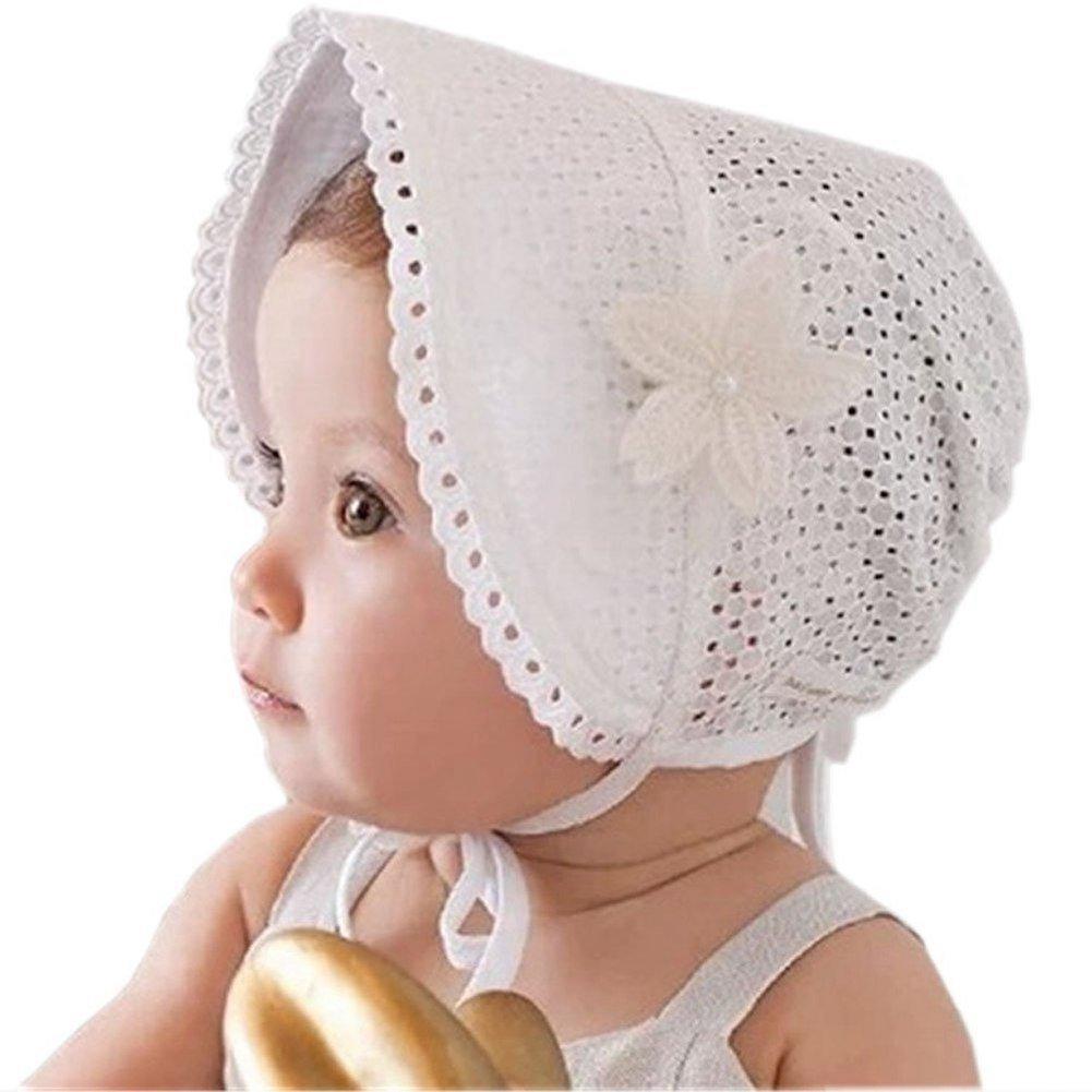 SAMGU Tappi principessa dei bambini delle ragazze dei capretti del bambino del cappello del Beanie Nuovo pizzo floreale ETM160617012