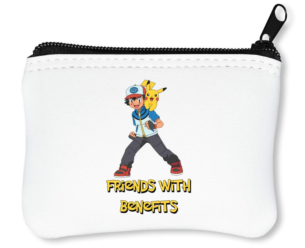Pokemon Pikachu Ash Friends Illustration Billetera con ...