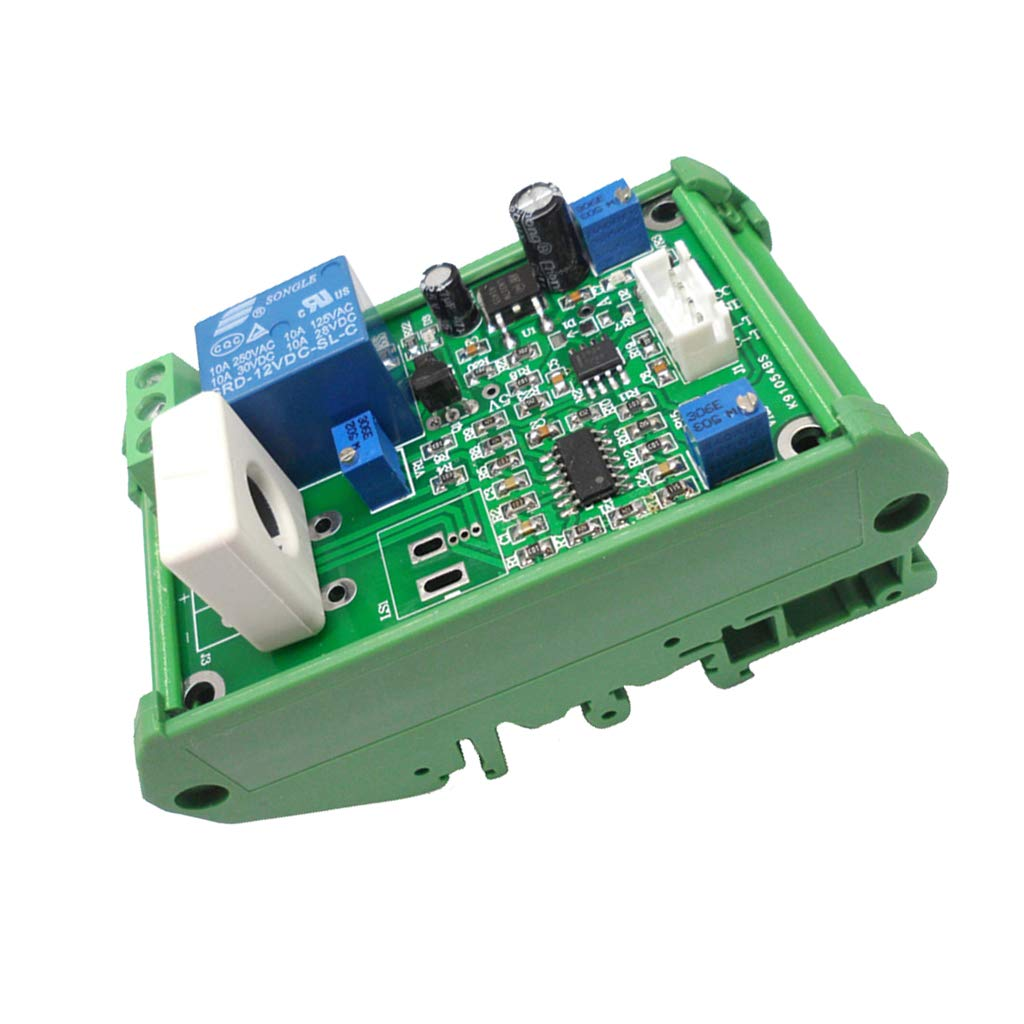 MagiDeal WCS1800 Hall Current Detection Sensor Module DC 0-35A Output, Working Voltage 12V with Base