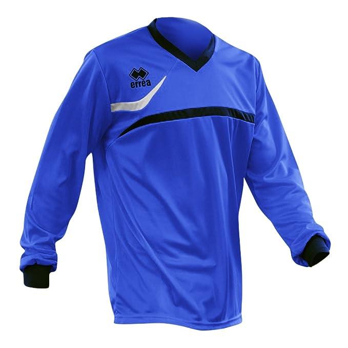 Errea - Camiseta de Fútbol de manga larga - Modelo Derby (Pequeña (S)