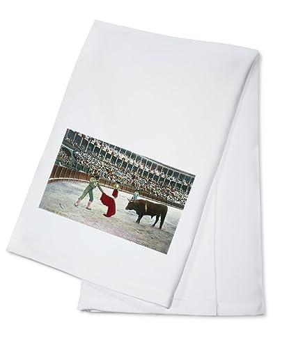 España – Vista de un matador de matar a el toro (100% algodón absorbente