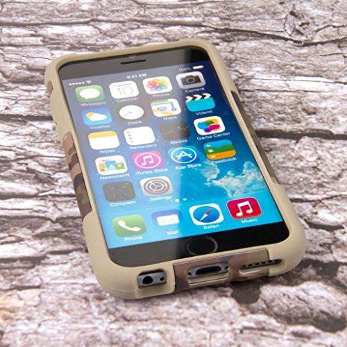 "MPERO IMPACT X Series Ständer Case Hülle Tasche for Apple iPhone 6 4.7"" - Hunter Camo"