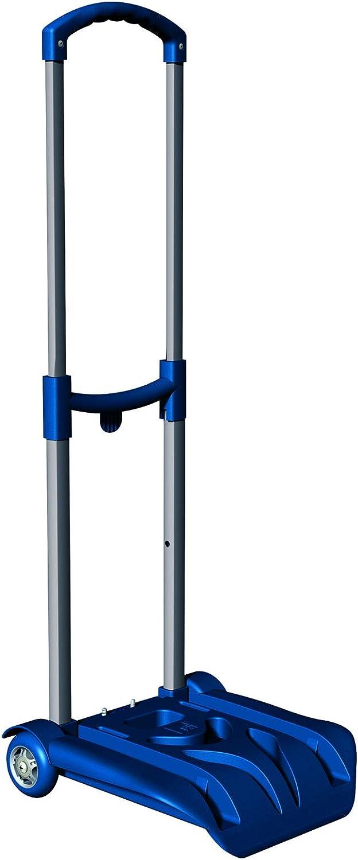 EASY TROLLEY SJ Chariot pliable pour le Sac /à dos Scolaire jusqu/à 26 Kg Bleu