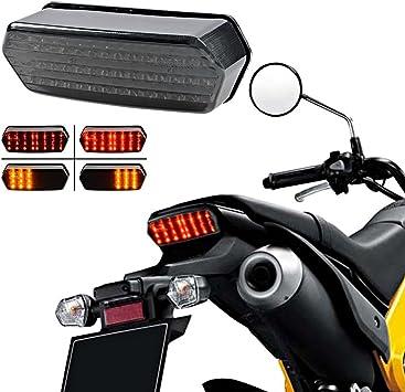 LED Integrated Taillight Brake Running Turn Signals Smoke For Honda Grom MSX125