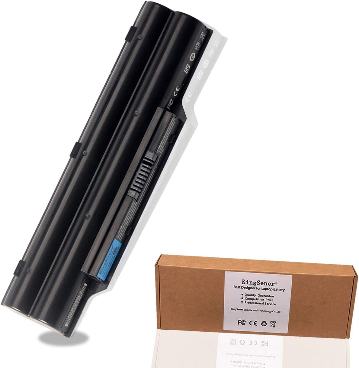 Kingsener FPCBP250 Lapto Battery for FUJITSU LifeBook A530 A531 AH530 AH531 LH701 LH520 LH522 PH521 FMVNBP186 FMVNBP189 FPCBP250AP (FPCBP250_72WH US)