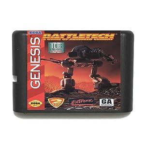 ROMGame Battletech 16 Bit Md Game Card For Sega Mega Drive For Genesis