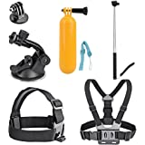 AKASO Accesories Gopro Accessories Head Strap Mount Headstrap Chest Mount for AKASO EK7000 Gopro Hero5 Gopro Session Apeman A70 Apeman Waterproof Action Camera