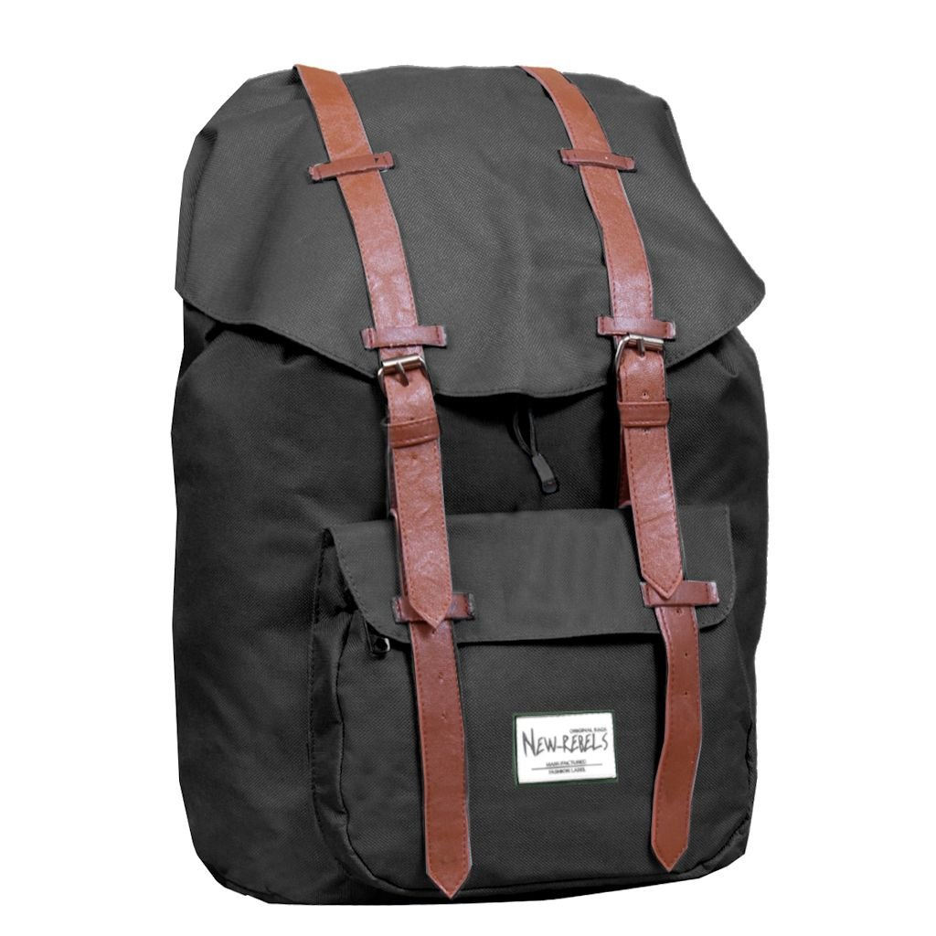 New Rebels Rucksack L Scandia 02 Dunan schwarz: Amazon.de: Koffer ...