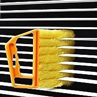 EZONEDEAL Blind Cleaner Tool, Mini Hand-held Cleaner,Mini-Blind Cleaner,Dirt Clean Cleaner,Venetian Blind Brush Window…