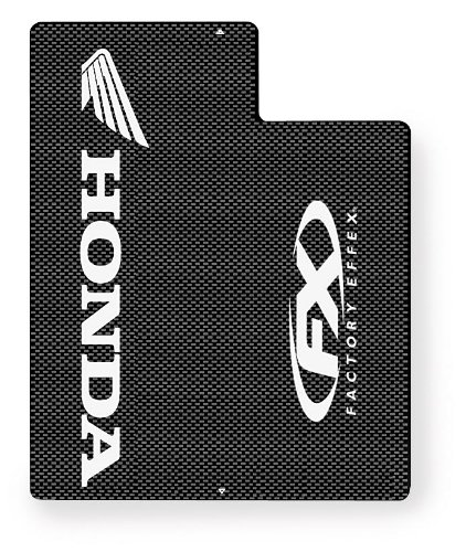 - Factory Effex (06-38320) White Upper Fork Shield Graphic