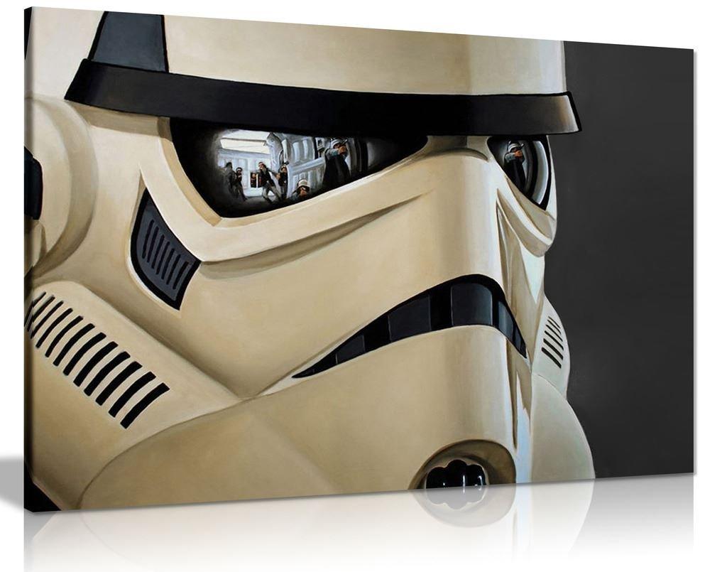 Star Wars Storm Trooper Leinwand Kunstdruck Bild, A0 91x61cm (36x24in) (36x24in) (36x24in) bee760