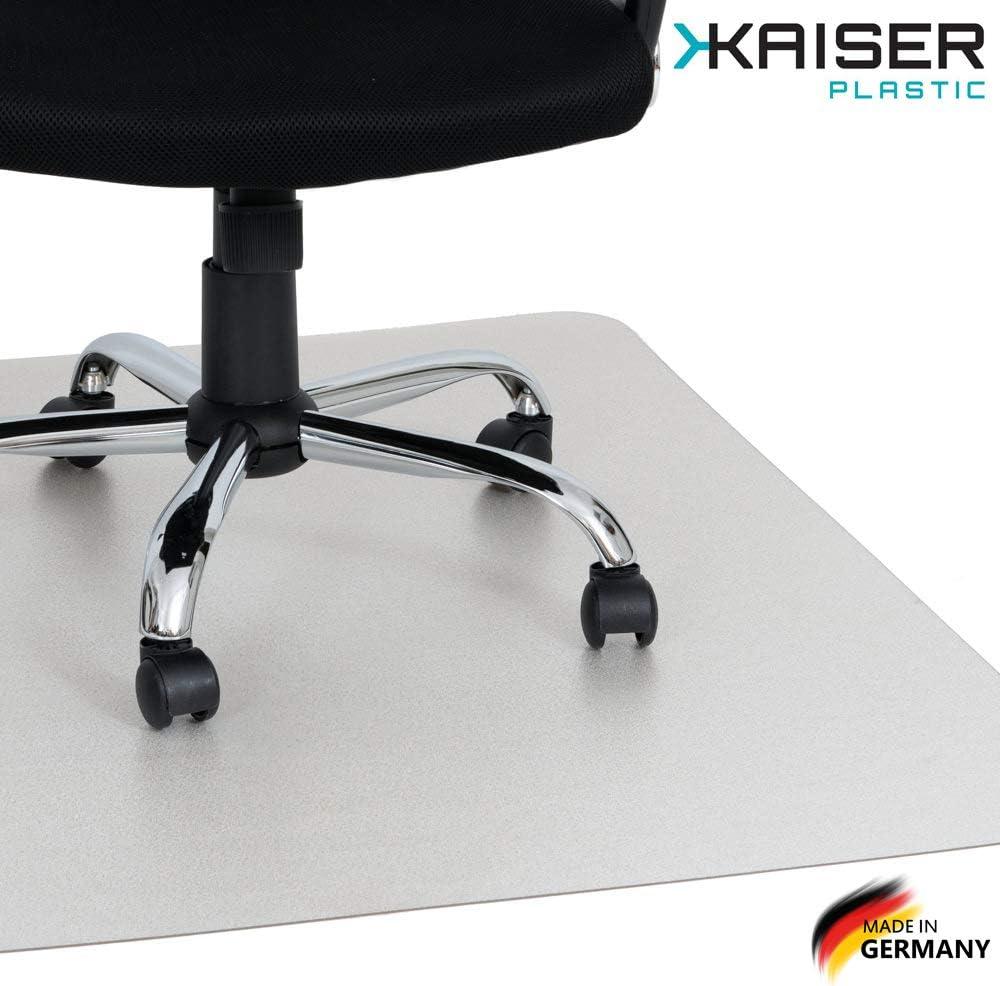 Kaiser Alfombrilla para Suelos| Made-In-Germany | para Piso Duro | 75 x 120 cm | Transparente policarbonato