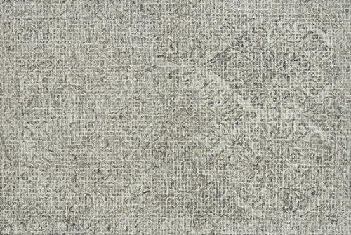 3' Pewter Area Rug - Loloi Rugs, Tatum Collection - Pewter / Stone Area Rug, 3'6
