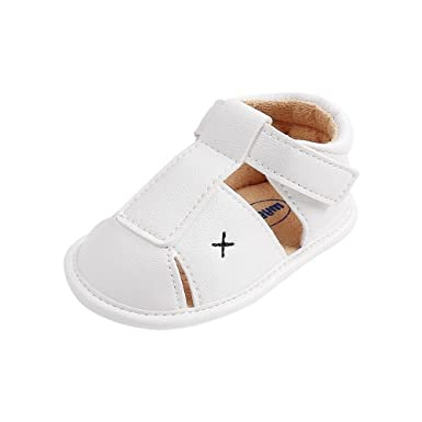 AMEIDD Zapatos para bebé, Bebe Recien Nacido Verano Sandalias Zapato ...