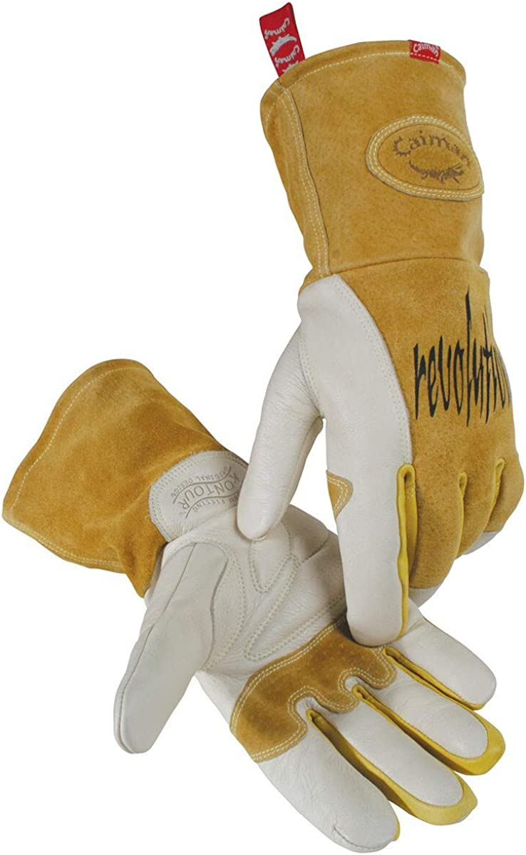 Caiman Revolution 1810 MIG//Multi-Task Cowhide Welding Glove