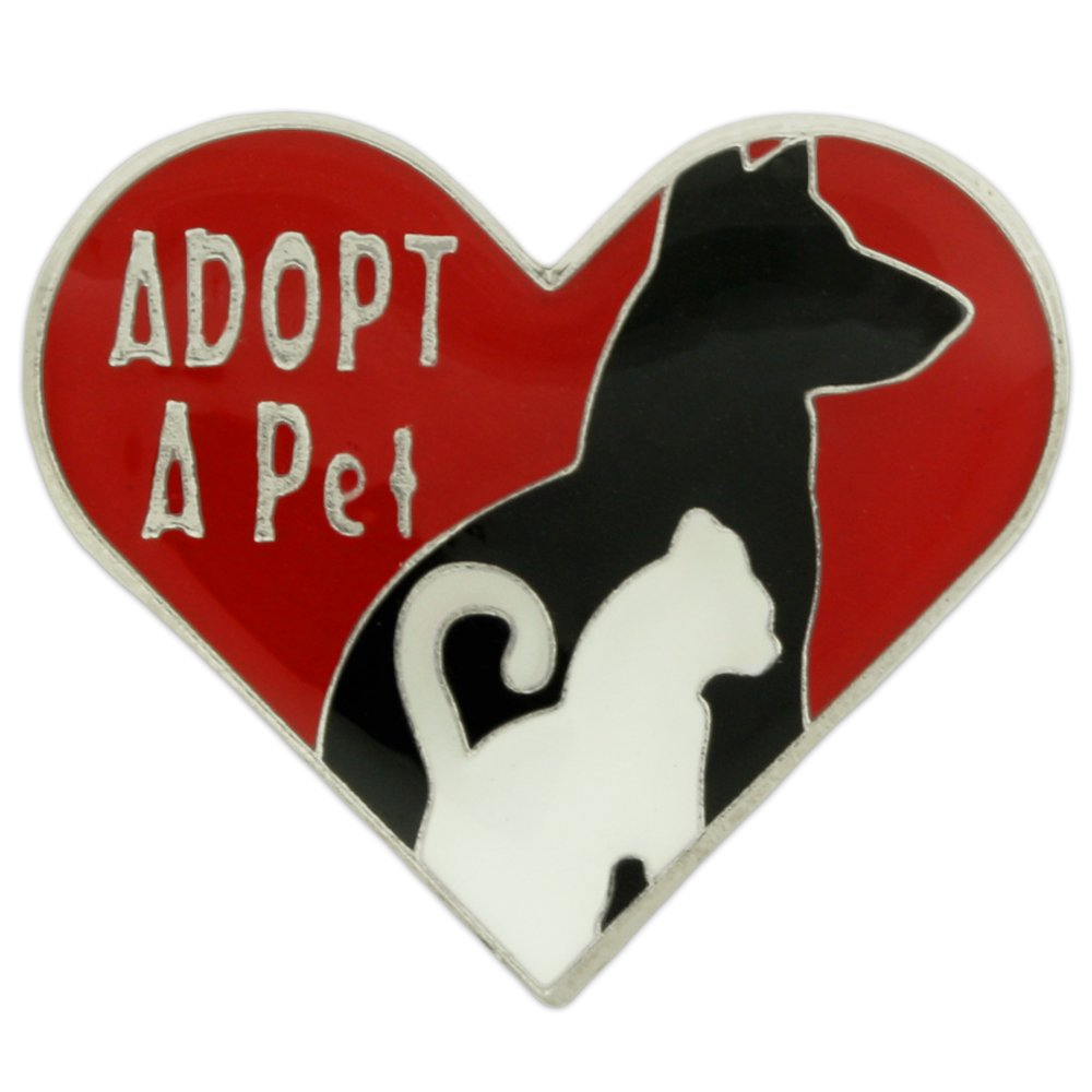 PinMart's Adopt a Pet Animal Enamel Lapel Pin