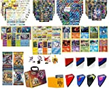 Pokemon Cards Ultra Super Premium Collection - 2 Secrets Rares 2 Full Art MEGAs, 2 Full Art GXs, 2 Full Art EXs, 10 Legendary Rares, 10 Rares, 4 Boosters, TopDeck Deck Box and Mini Binder