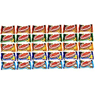 Combos Baked Snacks Pretzel and Cracker Variety Pack 1.7 Ounce Bags (30 Pack)