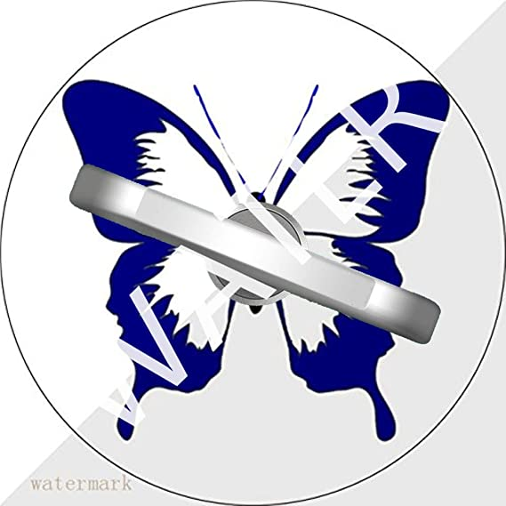 Amazon Phone Ring Stand Holder Blue Butterfly Phone Ring Grip