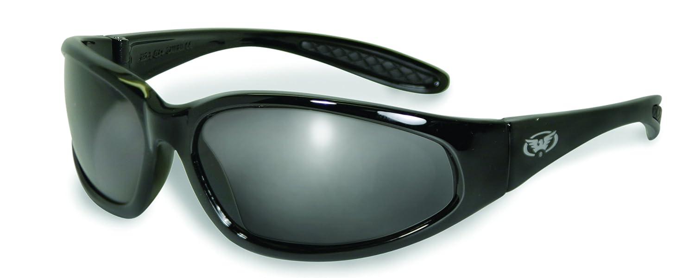7895e26c67 Hercules Safety Glasses - Black Frame - Smoke Lens - Hercules Sunglasses -  Amazon.com