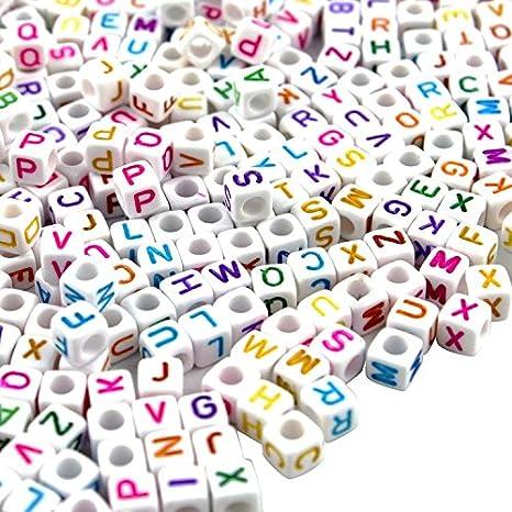 a8dd3a7bd580 500pcs clasificó la letra del color   el alfabeto rebordea los juguetes  educativos Los niños plásticos DIY ...