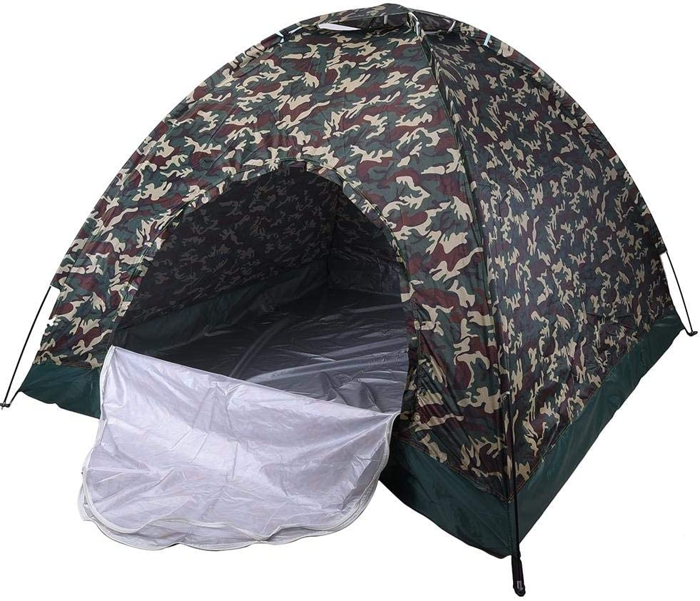 Paul03Daisy Camouflage 4 Person Tent Automatic Instant Pop
