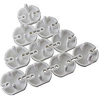 10 piezas 2 agujeros Caja de enchufe