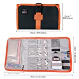 Travel Organizer, BUBM Cable Bag/USB Drive Shuttle