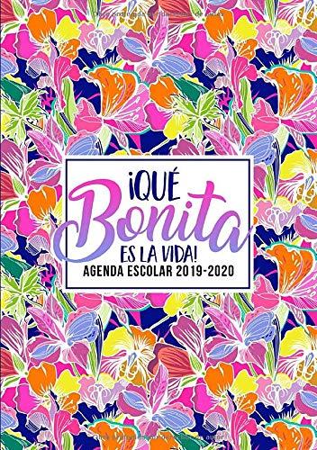Amazon.com: ¡Qué bonita es la vida!: Agenda escolar 2019 ...