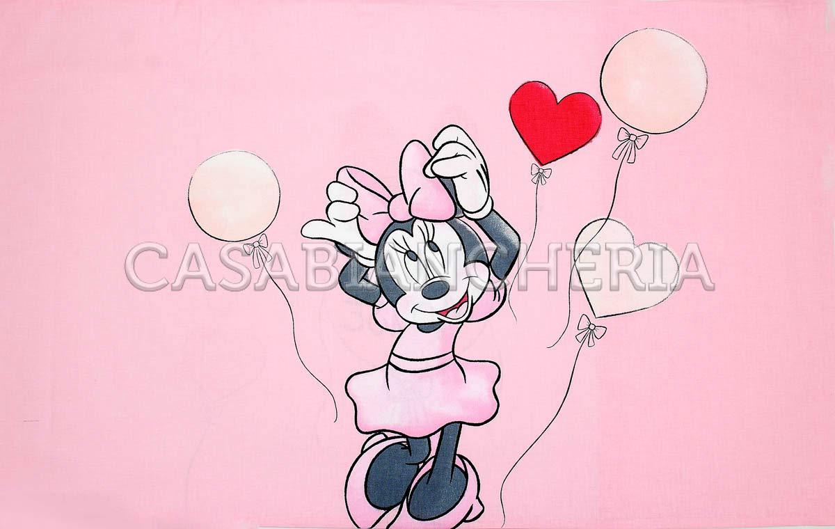 Caleffi Completo Lenzuola Minnie Love Letto 1 Piazza E Mezza Disney
