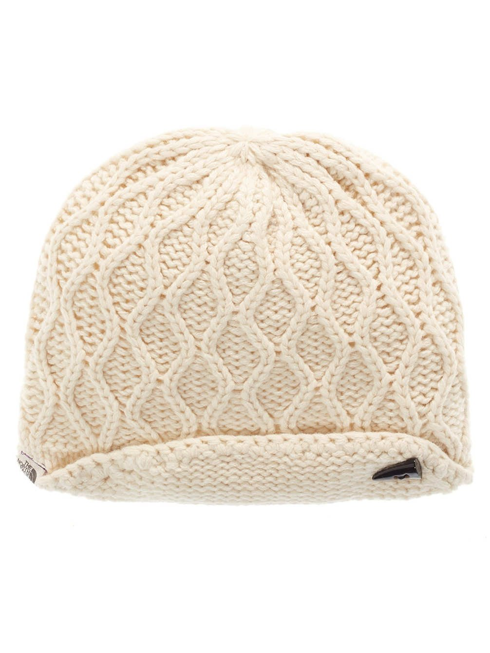 The North Face Side Cable Beanie - Women's Vintage White