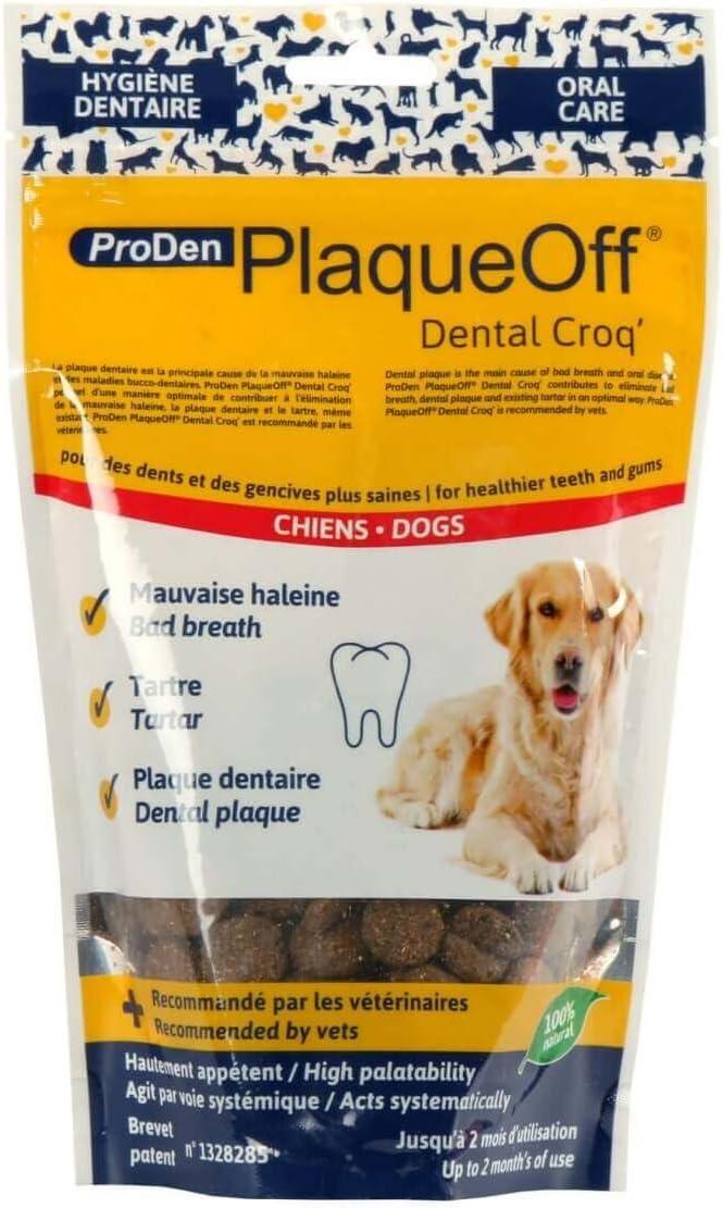 ProDenPlaqueOff Artículo para tu Mascota, Negro, 150 g (27310)