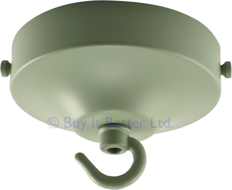ElekTek Light Fitting Lamp Kit with Strap Bracket with Hook Brass Plated