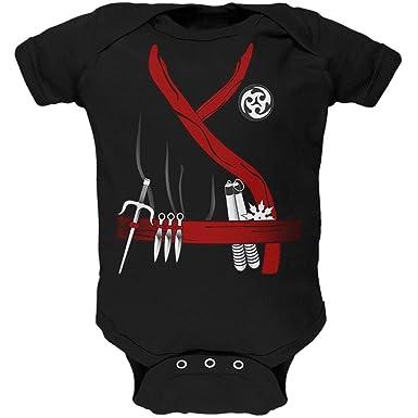 Amazon.com: Halloween Red Clan Ninja Assassin Costume Soft ...