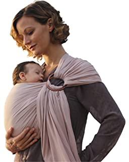 Amazon Com Hip Baby Wrap Ring Sling Baby Carrier For Infants And