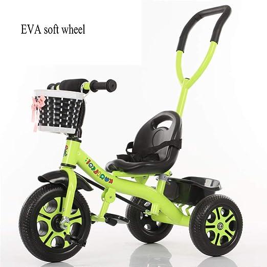 GIFT Carrito De Bebé Cochecito Infantil Triciclo Bicicleta ...