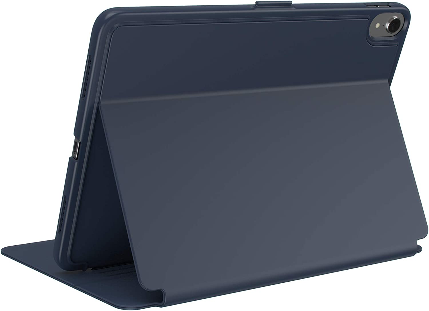 Speck Products Compatible Case for Apple iPad 9.7-inch (2017/2018, also fits 9.7-inch iPad Pro, iPad Air 2/Air), Balance FOLIO Case and Stand, Marine Blue/Twilight Blue
