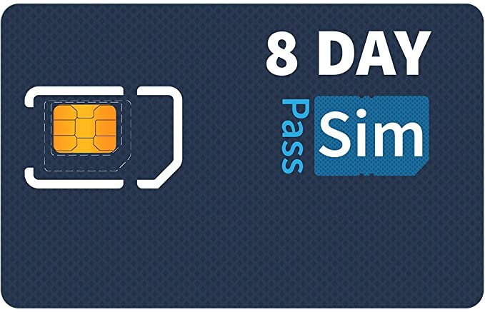 Amazon.com: SIMpass Unlimited 4G LTE Data, Talk & Text SIM ...