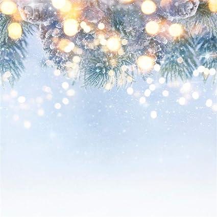 Christmas Background Portrait.Amazon Com Aofoto 5x5ft Blurry Christmas Portrait