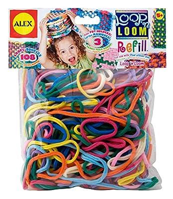 ALEX Toys Crafts Loop N Loom Refill Loops